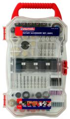 DURATOOL D02158  Rotary Accessory Set 208Pc